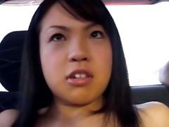 dilettante korean hooker in the car