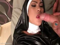 shemale anita nasty nun bareback