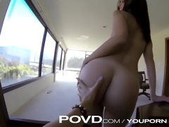 povd push her in the front