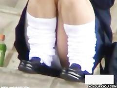 careless gals beneath pants