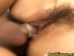 lewd oriental honey acquires pussy and backdoor
