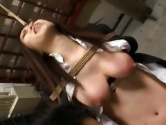 unfathomable bushy anal intercourse in prison