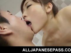 japanese playgirl karin kusunoki in the tub