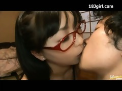 114 japanese beauty in glasses bonks