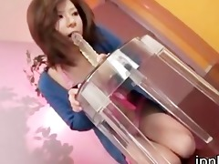 dirty amu kosaka playing with ther bawdy cleft