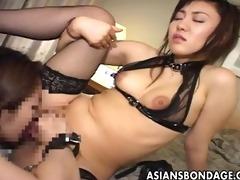 sexy oriental sweetheart has her st lesbian