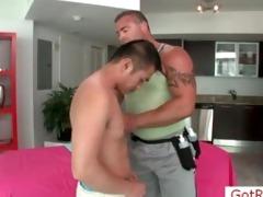 cute oriental man acquires massage by gotrub