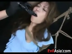 oriental legal age teenager serf with a curly slit